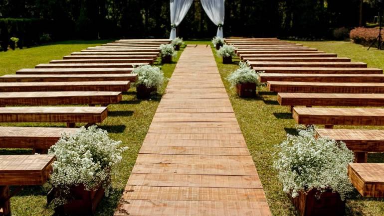 Decoração para casamento ao ar livre: como tornar um belo cenário natural ainda mais deslumbrante
